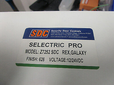 SDA Electra Pro Z7252 Electric Cylindical Lock Set.  Previously Used Stock.  <
