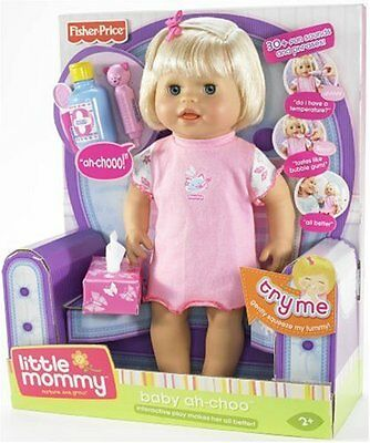 Fisher Price Little Mommy Baby Ah-Choo New