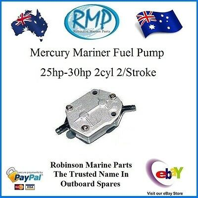 A Brand New Fuel Pump Assembly Mercury Mariner 25hp-30hp # R 853729A 1  Nice