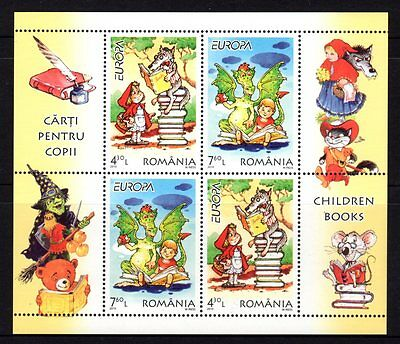 Romania 2010 Europa Children Books Sheetlet 4 MNH