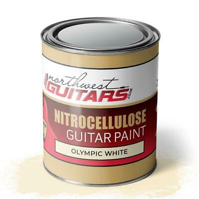 Olympic White Nitrocellulose Guitar Paint / Lacquer 250ml