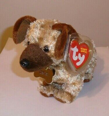 Ty Beanie Baby ~ ODIE the Dog (From Garfield the Movie) ~ MINT with MINT TAGS