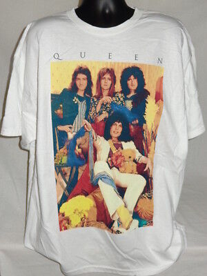 Queen Classic Rock Old School Tour Color Music Shirt 2Xl Tee