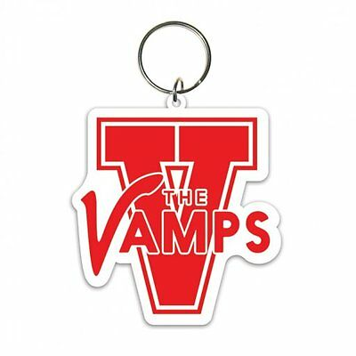 THE VAMPS varsity 2014 - shaped RUBBER KEYCHAIN official merchandise