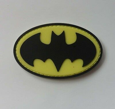 Hot  THE BATMAN BAT SYMBOL PVC 3D   Patch SJK  *  374