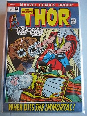 Mighty Thor Vol. 1 (1966-2011) #198 FN (Cover Detached) UK Price Variant