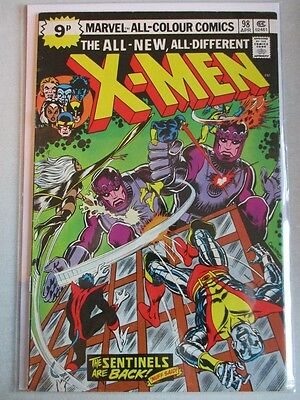 Uncanny X-Men Vol. 1 (1963-2011) #98 FN/VF UK Price Variant