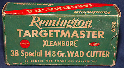 Original Vintage Remington .38 Special Empty Shell Box with Divider Tray