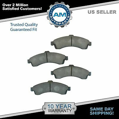 Nakamoto Front Brake Pad Premium Posi Metallic Kit for Chevy Saab GMC SUV Truck