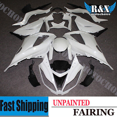 Unpainted Drilled Fairing Kit Bodywork For Kawasaki Ninja ZX6R 636 2013-2015 13