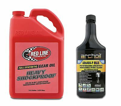 Red Line Heavy Shockproof Gearbox Oil 75W250 US GALLON 3.785 Litres