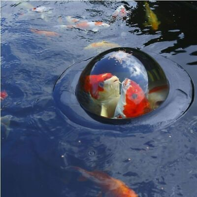 Velda Floating Dome Large Koi Fish Pond Sphere Water Garden Feature Decoration