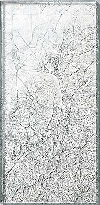 Silver Foil Glass Bathroom Kitchen Splashbacks Metro Tiles MT0114