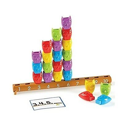 Learning Resources 1-10 Counting Owl Activity Sets