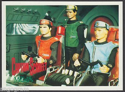 MODERN POSTCARD - Captain Scarlet and The Mysterons - Captain Scarlet 2