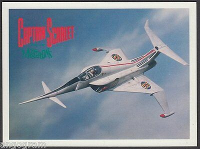 MODERN POSTCARD - Captain Scarlet and The Mysterons - Captain Scarlet 6