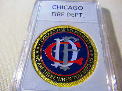 CHICAGO FIRE DEPT. Challenge Coin