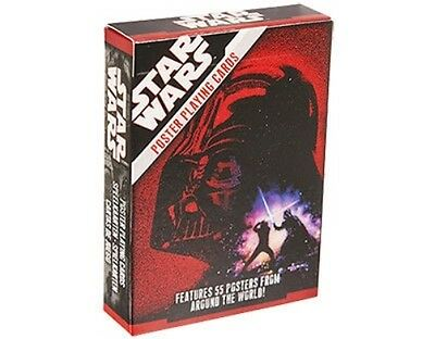 STAR WARS posters 2007 - PACK OF 52 PLAYING CARDS official merchandise