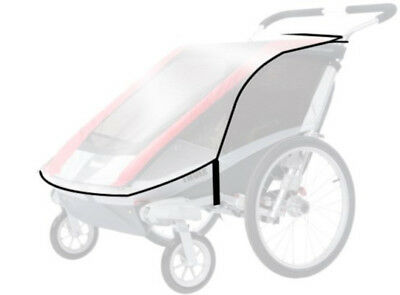 Thule Chariot Carriers Cougar 2/cx2 Rain Cover