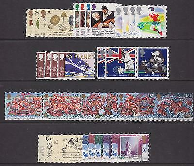 G.b. - Complete 1988 Commemorative Year Set Unmounted Mint - (8 Sets)  (Ref.a2)