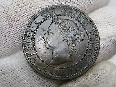 Better Grade 1890 H Canadian Large Cent. Canada.