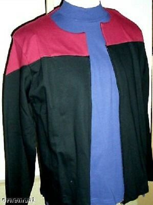 STAR TREK  Uniform Jacke Voyager Captain Baumwolle-  XL