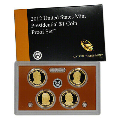 2012 US Mint Presidential $1 Coin Proof Set