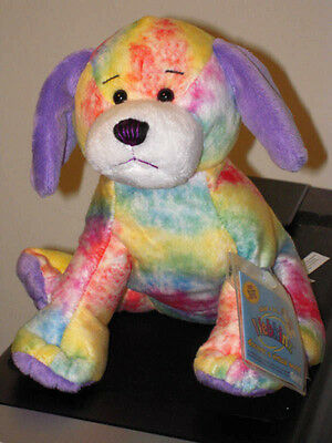 TIE DYED PUPPY Dog Webkinz NEW * SEALED / UNUSED CODE * VERY RARE & Hard to find