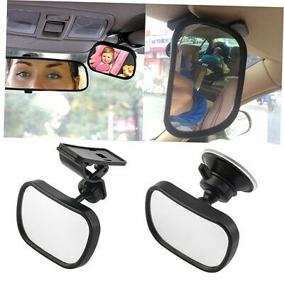 Universal Car Rear Seat View Mirror Baby Child Safety With Clip and Sucker GO