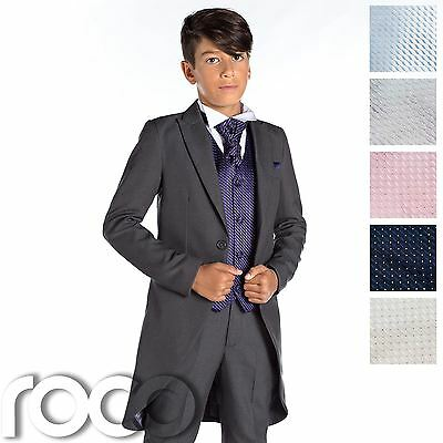 Boys Grey Tail Suit, Boys Morning Suits, Grey Suit, Prom Suits For Boys