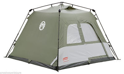 Coleman Instant Camping Festival Tourer Tent 4 Man Person Family Pitch Pop Up