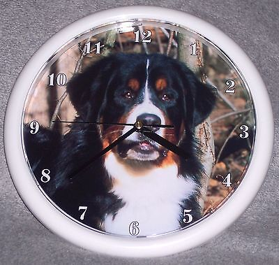 Bernese Mountain Dog 001 Wall Clock
