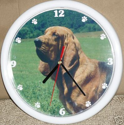 Bloodhound Dog Wall Clock