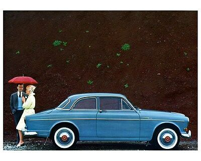 1962 1963 Volvo 122S Two Door Factory Photo ca4250
