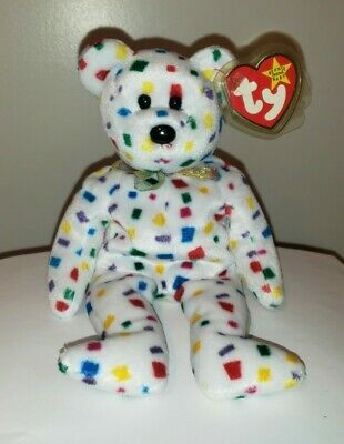 Ty Beanie Baby ~  TY2K the Bear ~ MINT with MINT TAGS ~ RETIRED