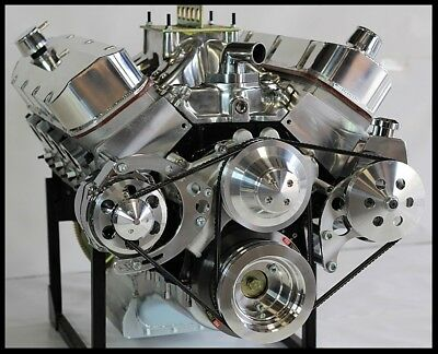 CHEVY BBC 572 STAGE 8.0 TURN KEY ENGINE, NEW MERLIN IV BIG M BLOCK, 740 hp