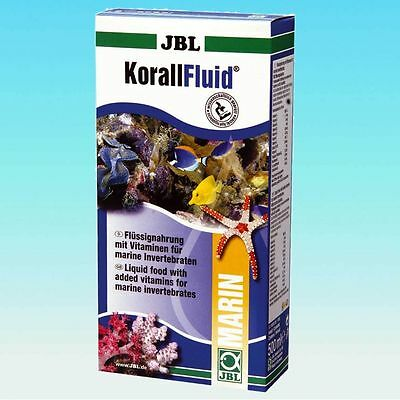 JBL KorallFluid Liquid Invert Food for Corals 500 ml*Korall Fluid