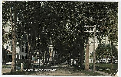Antique Postcard 1908 Main St Looking N. Hanover New Hampshire