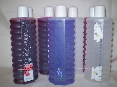 Avon Bubble Bath 500ML  Various Scents