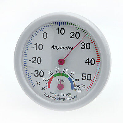 Thermometer and Hydrometer / Temperature Humidity Measure Scale Gauge C