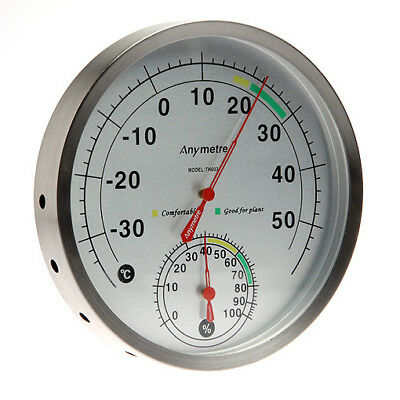 Thermometer and  Hydrometer / Temperature Humidity Measure Scale Gauge A