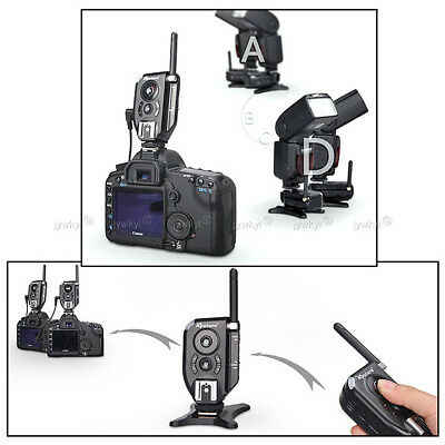 Flash Trigger and Wireless Remote Control for Sony Canon Nikon Olympus Pentax