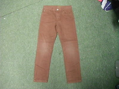 "Denim Co Slim Jeans Waist 25"" Leg 24"" Faded Maroon Boys 9/10 Yrs Jeans"
