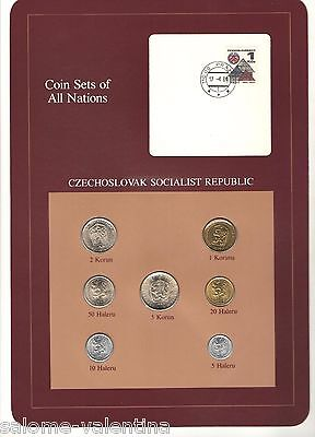 Franklin Mint Coin Sets Of All Nations Czechoslovakia **mint Uncirculated