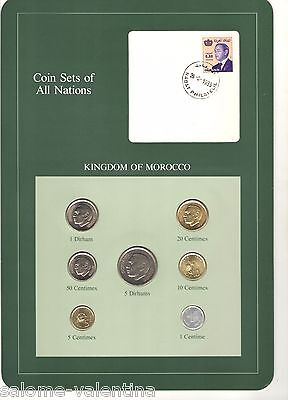 Franklin Mint Coin Sets Of All Nations Morocco **mint Uncirculated