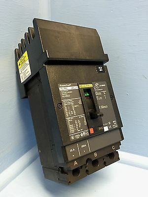 NEW Square D I-Line HL 060 HLA36025 25A PowerPact Circuit Breaker HL060 25 Amp