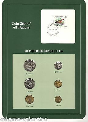 Franklin Mint Coin Sets Of All Nations Seychelles **mint Uncirculated