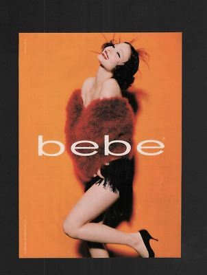 1998 Magazine Print Ad~Bebe~1920s Flapper Style~A200