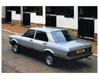 1983 Fiat Argenta Two Litre Factory Photo ca4299