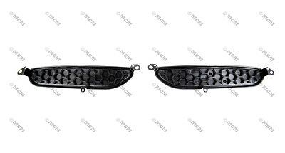 71 72 73 Ford Mustang Hood Air Scoop Grille, PAIR